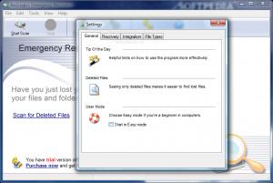 Восстановление удаленных файлов